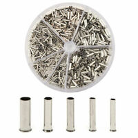 1900pcs Insulated Cord Pin End Terminal Copper Crimp Wire Connector 0.5mm-2.5mm²