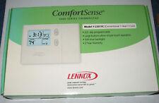 LENNOX MODEL 51M34 PROGRAMMABLE THERMOSTAT Comfortsense 3000 L3511C 5/2day