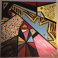 ANTONIO AVITIA ORIGINAL CUBIST ABSTRACT ART SIGNED OREGON ARTIST