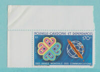 New Caledonia Scott #C-188A, World Communications Year Issue From 1983, MNH