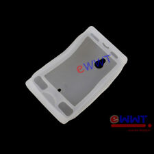 for Sony Ericsson Xperia Mini Pro * White Silicone Soft Back Cover Case ZJSF330