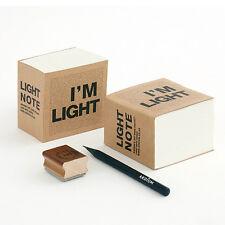 Uniq I'm Light Mini Block Version Recycled Kraft Paper Memo Pad Notebook Blank