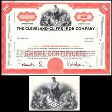Cleveland-Cliffs Iron Company OH (specimen) Stock Certificate