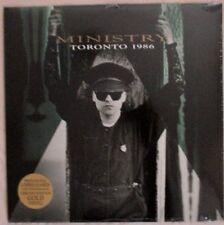 MINISTRY - Toronto 1986 LIVE LP Ltd Ed GOLD VINYL Cleopatra Records NEW & SEALED