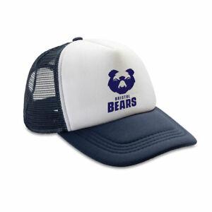 BRISTOL BEARS rugby retro adjustable trucker cap [navy/white]