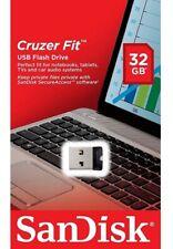SanDisk 32GB USB SD CZ33 Cruzer Fit 32G USB 2.0 Flash Drive SDCZ33-032G