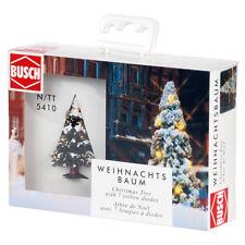BUSCH 5410 N/TT Weihnachtsbaum mit LED-Beleuchtung ++ NEU & OVP ++