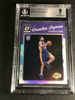 BRANDON INGRAM 2016 DONRUSS OPTIC HOLO SILVER REFRACTOR ROOKIE RC MINT BGS 9 NBA