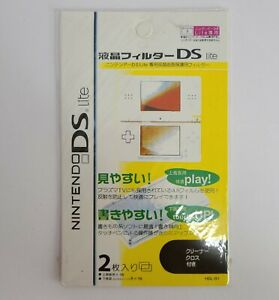 Hori Official Nintendo DS Lite Screen Protector HDL-01(2 Pack)