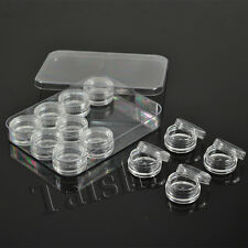 12 Pieces Jar Containers High Quality Lip Balm with cap for nail art