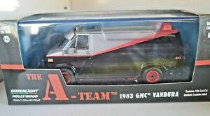 GREENLIGHT 1:43 Hollywood - The A TEAM - BA's 1983 GMC Vandura - Diecast