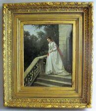 Very Fine Original Antique Dutch Oil Painting  JAN ANTOON NEUHUYS  c. 1864