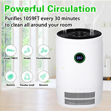 Aug Large Room Air Purifiers Hepa Home Cleaner for Allergies +Remote�200m3/h】Us