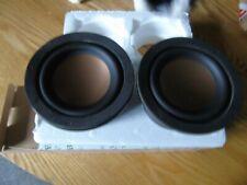 HiVi B3N Aluminium Woofer Driver Round Frame (Pair)
