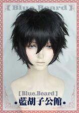 Persona 5 Joker Kurusu Akira Short black Cosplay hair wig+wig cap+track No.