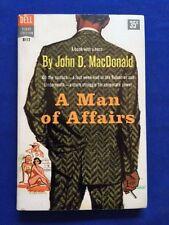 A MAN OF AFFAIRS - FIRST EDITION PAPERBACK ORIGINAL BY JOHN D. MACDONALD