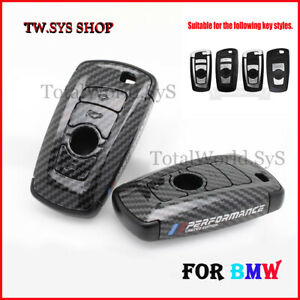 Key Case Cover for BMW ☆ Full Shell ☆ F10,20,30 ☆ ABS Carbon Design☆ Keyless ☆