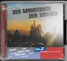 """2 CD WDR 2 `Soundtrack zum Sommer"""" Neu/OVP Deep Purple,Coldplay,Meat Loaf,Bap"""