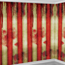 HALLOWEEN CREEPY CARNIVAL CIRCUS CLOWN PARTY WALL SCENE ROOM ROLL DECORATION