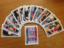 Herald Sun 2006 AFL Footy Cards -  FREMANTLE Team Set - Grab your team now!
