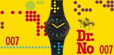 "Swatch: Limited Watch ""James Bond DR NO 1962"" SUOZ302"