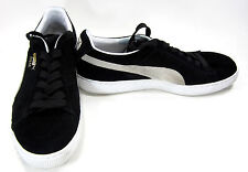 Puma Shoes Suede Classic + Eco Black Sneakers Size 9.5 EUR 42.5