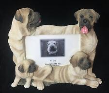 "E&S Imports Pug Dog Photo Frame 4"" x 6"""