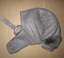 UGG Hat Aviator Trapper Gray Pewter Bomber Shearling NEW