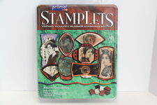 Stamplets by Premo. Asian Design set of stamps.  NIB  4 stamps, 4 56g sculpy