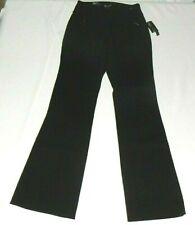 """INC Womens Black Pant 1"""" Black Stripe Leg NWT$$$$$ Restaurant Bartender Server"""