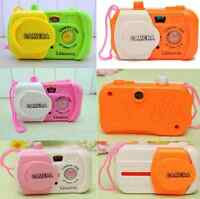 Hot Kids Baby Study Camera Take Photo Animal Learning Educational Toys Adorable