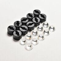 10pcs 60 Degree LED Lens for High Power 1w 3w 5w Led Black Holder 23mm HF