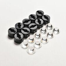 10pcs 60 Degree LED Lens for High Power 1w 3w 5w Led Black Holder 23mm BH