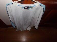 1 And 1 White, Black With Carolina Blue Shooting Shirt 2Xl