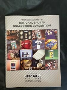 Official 2021 National Sports Card Collector's Convention Show Program And Bag