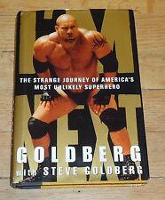 2000 WCW NWO Bill Goldberg I'm Next Wrestling Book WWF WWE