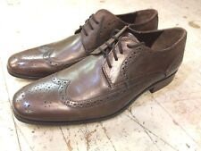 Bostonian Wingtip Derby Oxford brown leather mens shoes sz 11 M