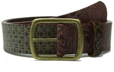 XS/S prAna Women's Carmen Leather Belt Multi-Color X-Small/Small Unisex