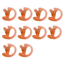 10x Left Medium Earbud Earmold for Kenwood Motorola Two-Way Radios Pack of 10