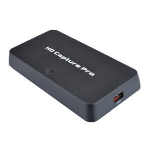 HDMI Video Capture Pro 1080P Component RCA AV Composit HD TV Game Record to USB