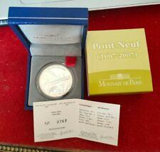 1,5 Euro Argent BE Monnaie de Paris Le Pont Neuf 2007 - 3000 exemplaires