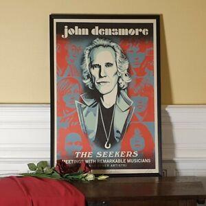 Shepard Fairey (OBEY) - John Densmore: the Seekers - The Doors - S/N/1000 - 2020