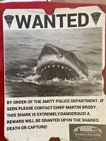 jaws movie Shark Amity News Print