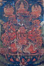 Fine Thangka of Red Hayagriva - Tibet - 18th Century