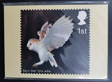 PHQ Stamp Card Set 249 Birds of Prey 2003. 10 card Set, Mint In Sealed Packet