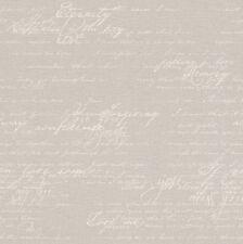 Tapete Rasch Florentine 2 449556 / Tapete Schrift Vintage Grau / € 3,37/qm