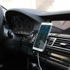 Universal 360° Auto KFZ Lüftungsgitter Halterung Handy Halter Smartphone Schwarz