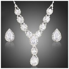 S14 The Pippa Made Using Swarovski Crystals Elegant Bridal Necklace Set $218