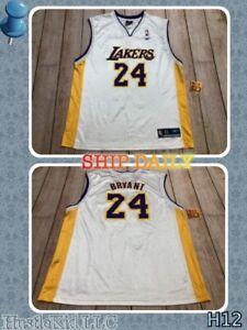 Reebok NBA Legend Kobe Bryant Los Angeles Lakers #24 NBA Men Jersey XL XLARGE❄️