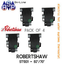 ELECTRIC HOT WATER THERMOSTAT - ROBERTSHAW ST1201 - SUITS ALL MAJOR BRAND - PK4